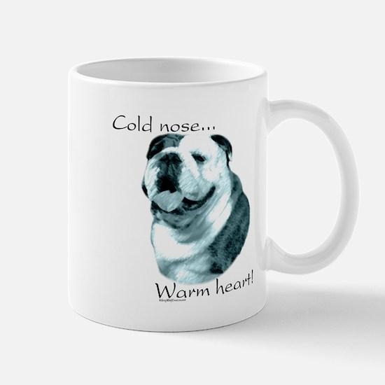 Bulldog Warm Heart Mug