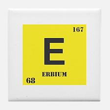 Erbium Element Tile Coaster