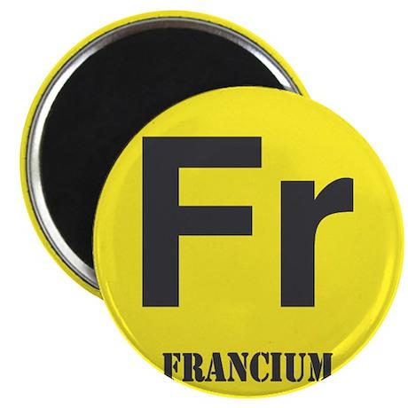 """Francium Element 2.25"""" Magnet (100 pack)"""
