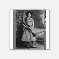 Annie Oakley Rectangle Sticker