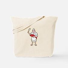 Japanese Fishmonger Butcher Chef Cook Tote Bag