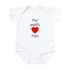 My aunts love me Infant Bodysuit