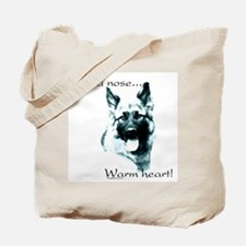 GSD Warm Heart Tote Bag