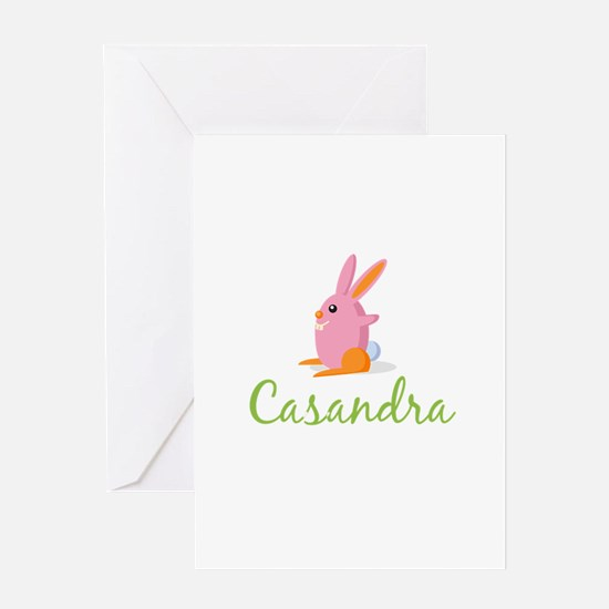 Easter Bunny Casandra Greeting Card