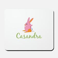 Easter Bunny Casandra Mousepad
