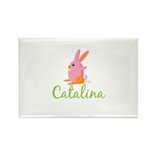 Easter Bunny Catalina Rectangle Magnet (100 pack)