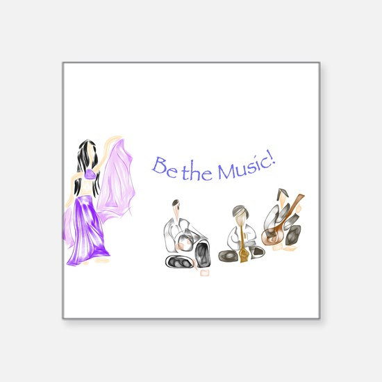 Be the Music Sticker