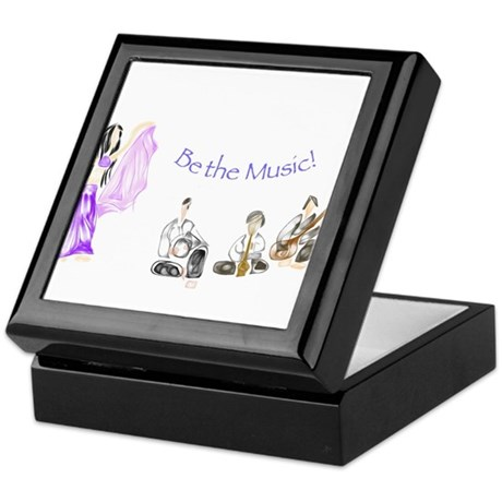 Be the Music Keepsake Box