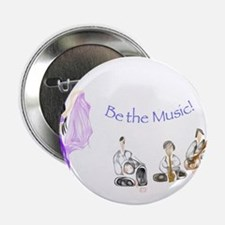 """Be the Music 2.25"""" Button"""