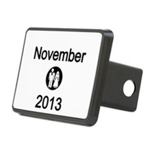 November 2013 Bride and Groom Hitch Cover