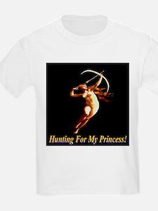 Hunting For My Princess Kids T-Shirt