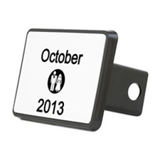 October 2013 Bride and Groom Hitch Cover