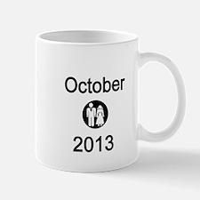 October 2013 Bride and Groom Mug