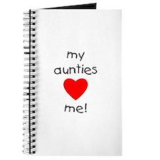 My aunties love me Journal