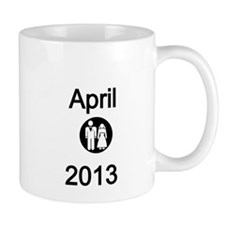 April 2013-Bride and Groom Mug