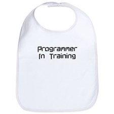 Cute Geek in training Bib