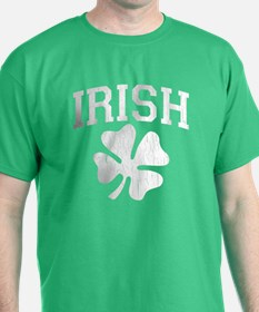 IRISH Shamrock (Distressed) T-Shirt