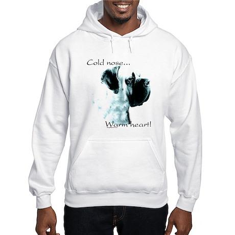 Mastiff Warm Heart Hooded Sweatshirt