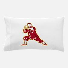 Shaolin Kung Fu Martial Arts Master Retro Pillow C