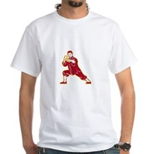 Shaolin Kung Fu Martial Arts Master Retro T-Shirt
