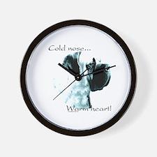 Mastiff Warm Heart Wall Clock