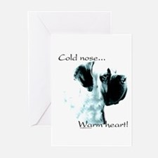 Mastiff Warm Heart Greeting Cards (Pk of 10)