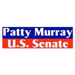 Re-elect Patty Murray Bumper Bumper Sticker
