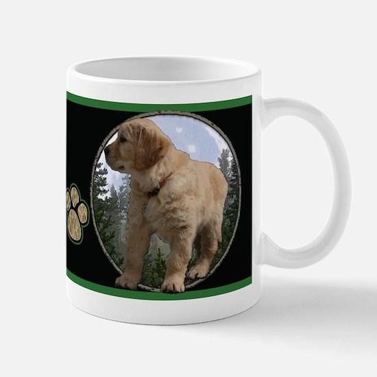 Golden retriever pup 2 Mug