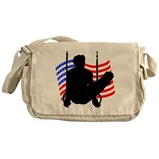 MALE GYMNAST Messenger Bag