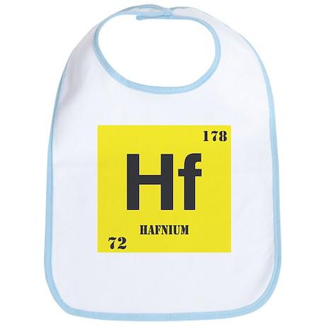 Hafnium Element Bib
