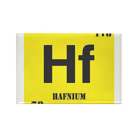 Hafnium Element Rectangle Magnet (10 pack)