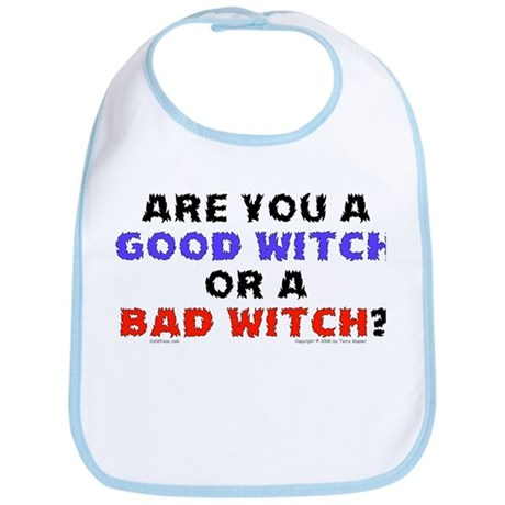Good Witch or Bad Witch? Bib