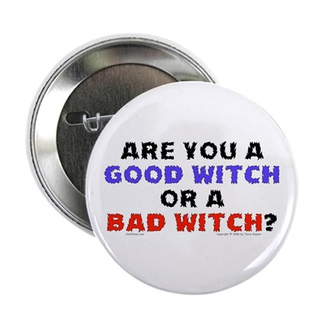 """Good Witch or Bad Witch? 2.25"""" Button (100 pack)"""