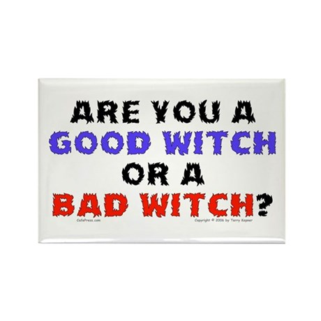 Good Witch or Bad Witch? Rectangle Magnet (100 pac