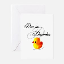 Due In December Greeting Cards (Pk of 10)