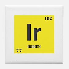 Iridium Element Tile Coaster