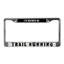 Trail Running License Plate Frame