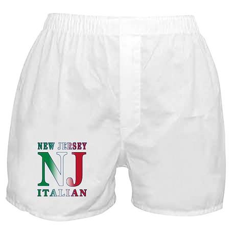 New Jersey Italian Boxer Shorts