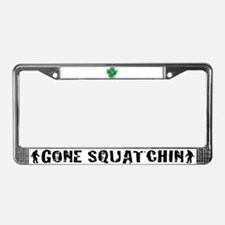 Irish Bigfoot License Plate Frame