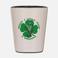 Irish Bigfoot Shot Glass