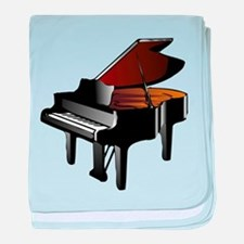 Grand Piano baby blanket