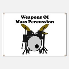 Weapons Of Mass Percussion Banner