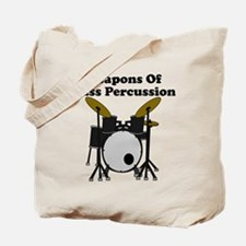 Weapons Of Mass Percussion Tote Bag