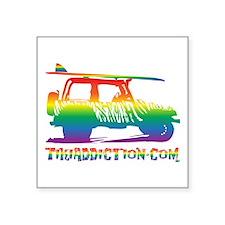SURF JEEP - PRIDE Sticker