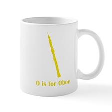 O Is For Oboe Small Mug