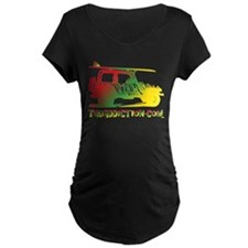 SURF JEEP - RASTA Maternity T-Shirt