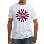 Myeloma Cancer Sucks Fitted T-Shirt
