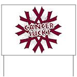 Myeloma Cancer Sucks Yard Sign