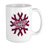 Myeloma Cancer Sucks Large Mug