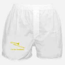 T Is For Trombone Boxer Shorts